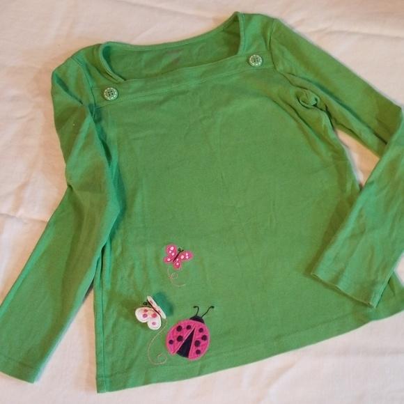 NWT Gymboree POLKA DOT LADYBUG White Button Front Cardigan Sweater